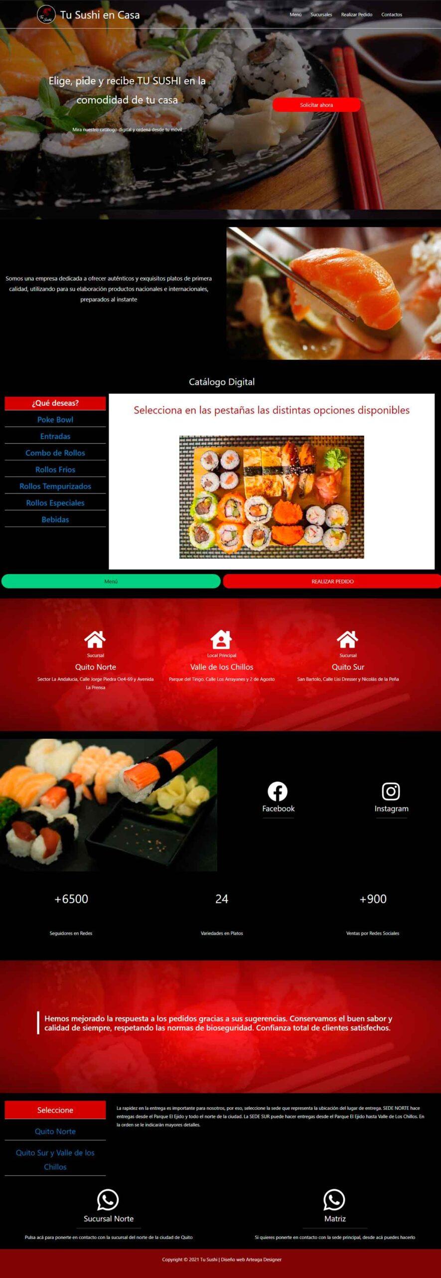 Tu Sushi Web