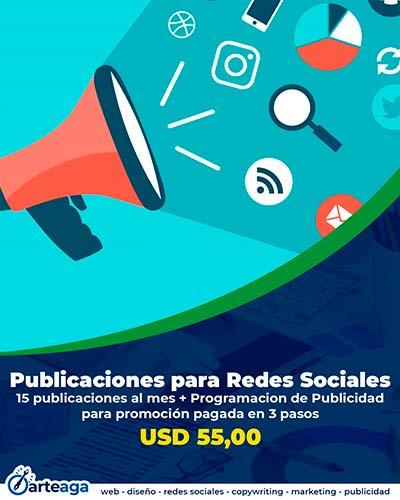 Publicaciones para redes sociales