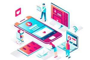 Redes sociales y página web